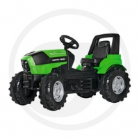 ROLLY TOYS TRACTOR PEDALES DEUTZ AGROTRON 7250 TTV.